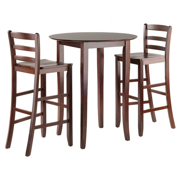 Jeanelle 3 Piece Pub Table Set By Red Barrel Studio