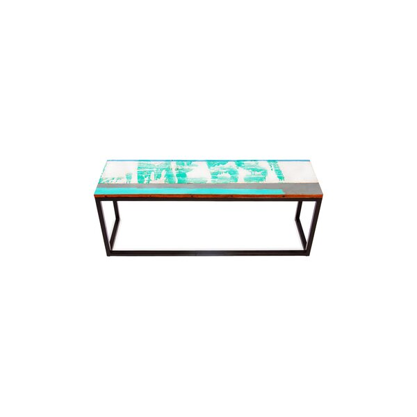 Galley Cat Reclaimed Wood Bench by EcoChic Lifestyles