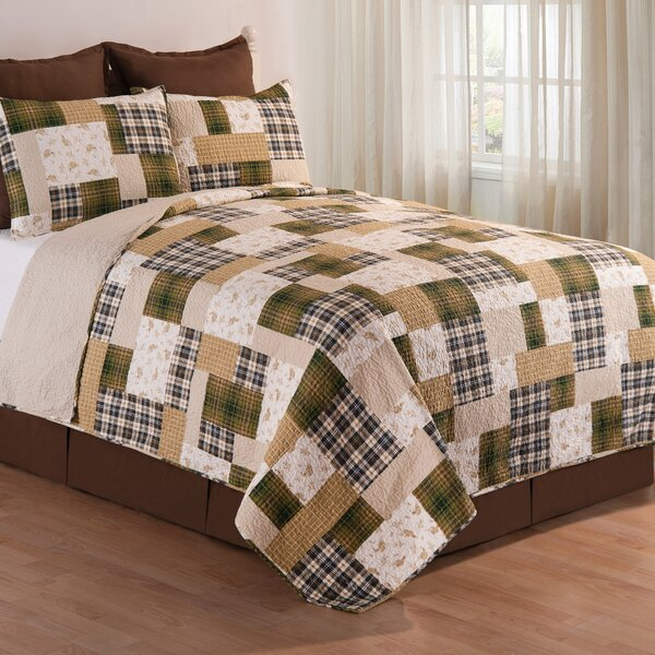 Kingsley Reversible Quilt Set by C&F Home