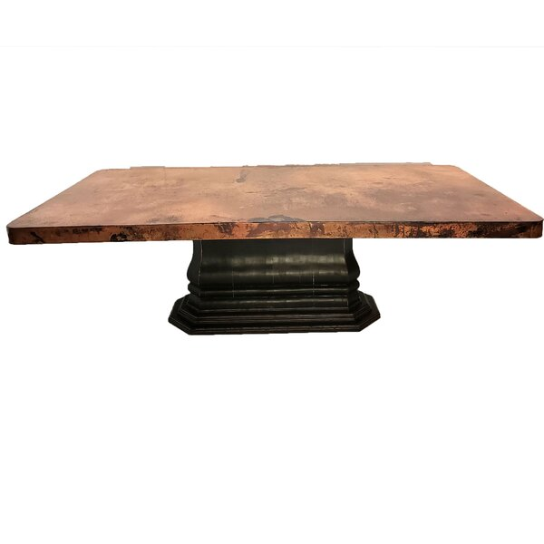 Meade Luxurious Dining Table by 17 Stories