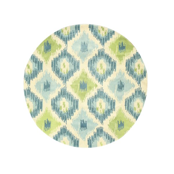 Madhugiri Hand-Tufted Blue Area Rug by Meridian Rugmakers