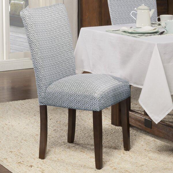 Feldman Upholstered Dining Chair (Set of 2) by Longshore Tides