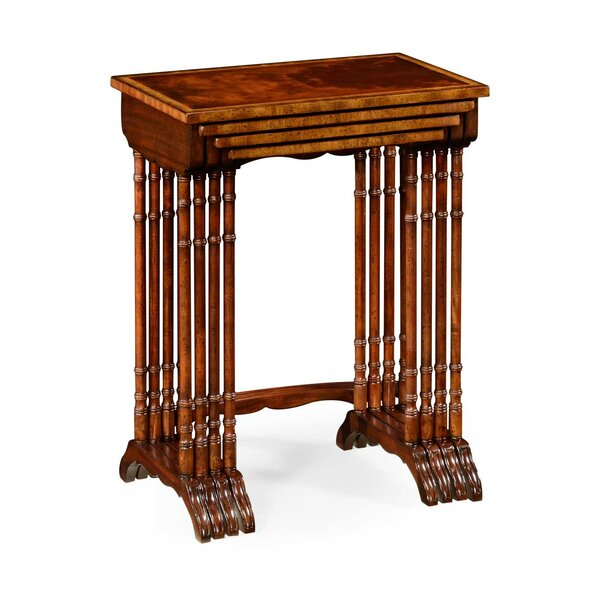 Buckingham 4 Piece Nesting Tables By Jonathan Charles Fine Furniture