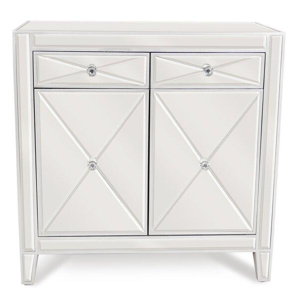 2 Drawer Mirrored Accent Cabinet by Joseph Allen