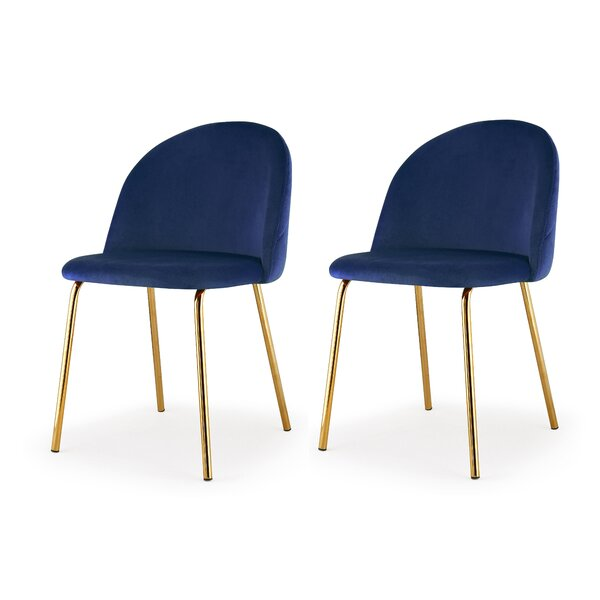 Upholstered Dining Chair (Set of 2) by Meelano