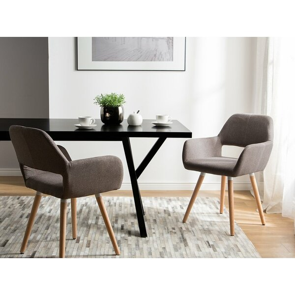 Bartell Upholstered Dining Chair (Set of 2) by George Oliver