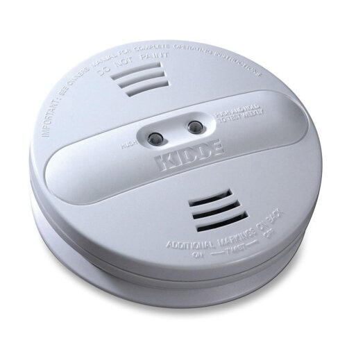 Smoke Alarm, Photo/Ion, Dual Sensor, Batt Opr, White by Kidde