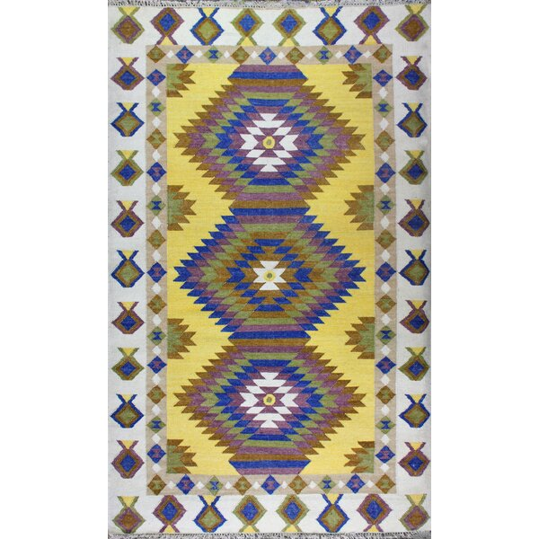 Yother Diamond Rug by Bloomsbury Market