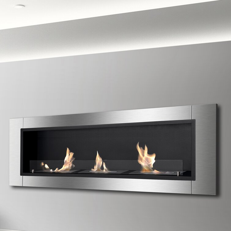 Ignis Ardella Wall Mount Bio-Ethanol Fireplace & Reviews | Wayfair