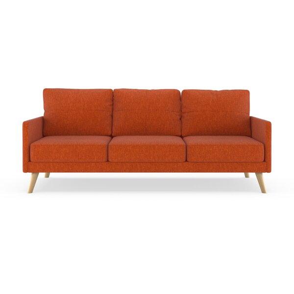 Modern Beautiful Crader Pebble Weave Sofa by Corrigan Studio by Corrigan Studio
