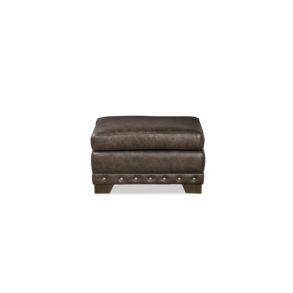 Winslow Leather Ottoman By Craftmaster