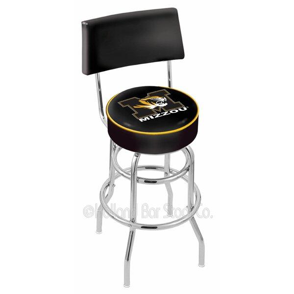 NCAA 30 Swivel Bar Stool by Holland Bar Stool