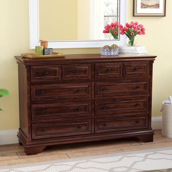 Curran 8 Drawer Double Dresser by Three Posts Three Posts