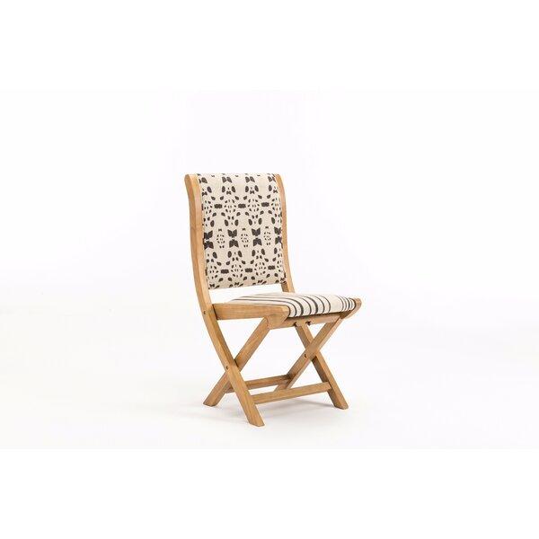 Durango Fabric Padded Folding Chair by Mistana