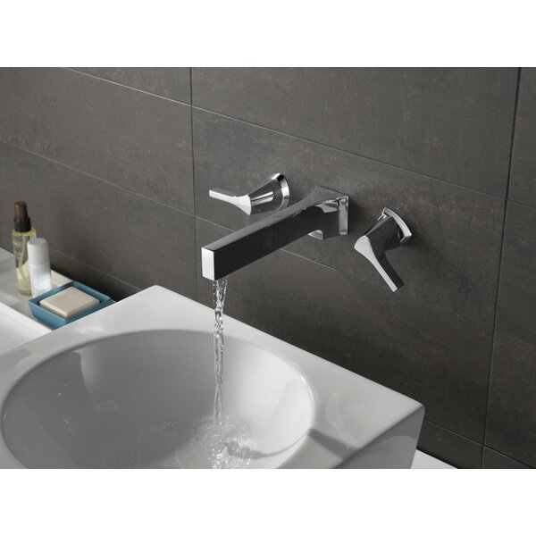 Zura Wall Mount Bathroom Faucet by Delta