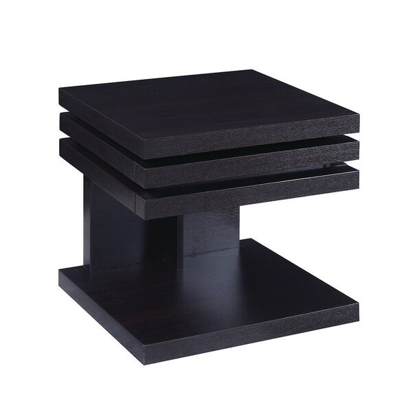 Sunanda End Table with Storage by Orren Ellis