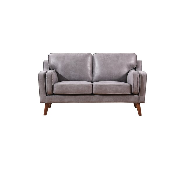Top Design Benoit Modern Luxurious Loveseat by George Oliver by George Oliver