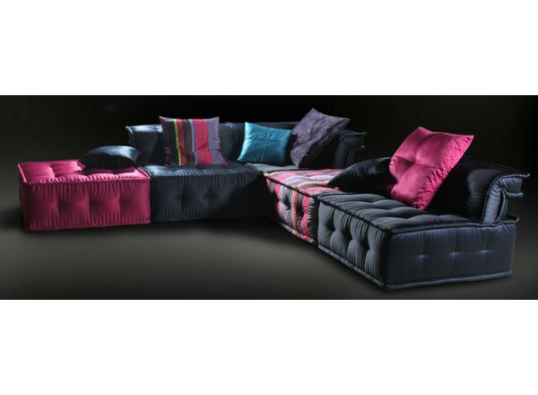Jaime Sectional with Ottoman by Mercer41
