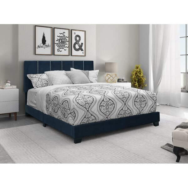Canon Upholstered Standard Bed by Everly Quinn