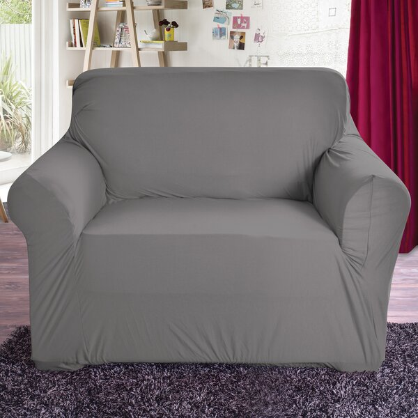 Box Cushion Armchair Slipcover by Red Barrel Studio