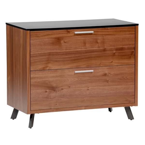 Marche 2 Drawer Lateral File Cabinet