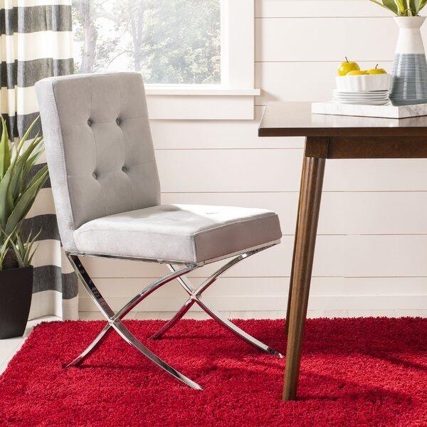 Goslinga Tufted Upholstered Dining Chair by Orren Ellis