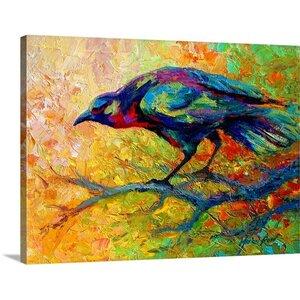 Tree Talk by Marion Rose Painting Print on Wrapped Canvas by Great Big Canvas