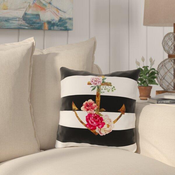 Ebling Outdoor Throw Pillow by Breakwater Bay