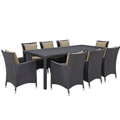 Sol 72 Outdoor Outdoor Patio Dining Set Cushions Cushion Color Dining Sets