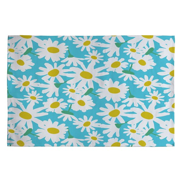 Zoe Wodarz Daisy Do Right Blue Area Rug by Deny Designs