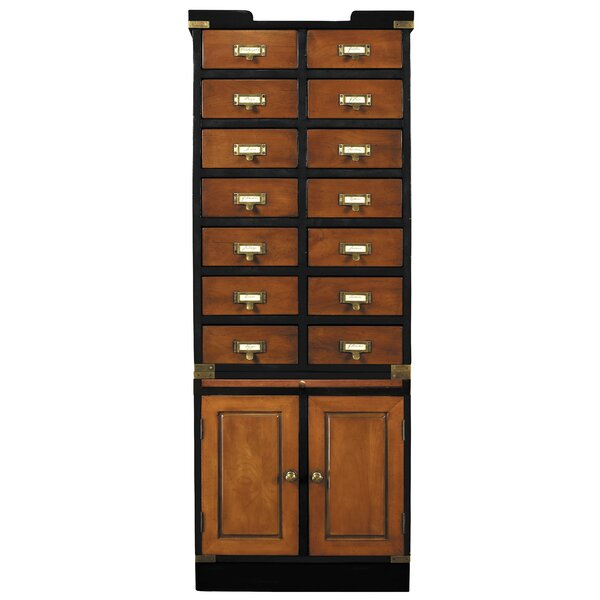 Keturah 14 Drawer and 2 Door Accent Cabinet by Breakwater Bay