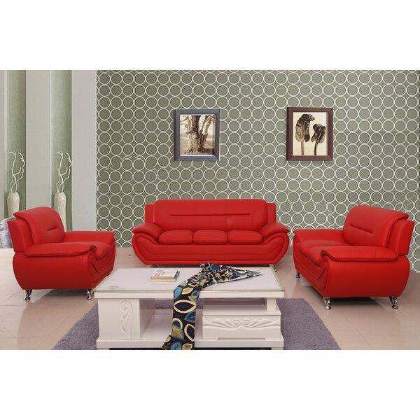 #1 Segura 3 Piece Living Room Set By Orren Ellis