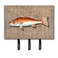 Fish Leash Holder and Key Holder by Caroline's Treasures