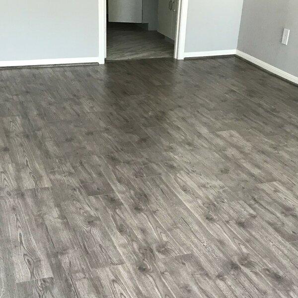7 x 48 x 12mm Oak Laminate Flooring in Pebble Beach by Yulf Design & Flooring