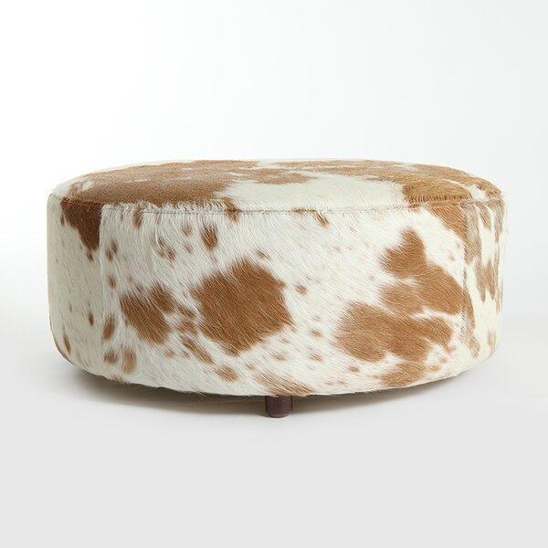 On Sale Cobden Leather Pouf