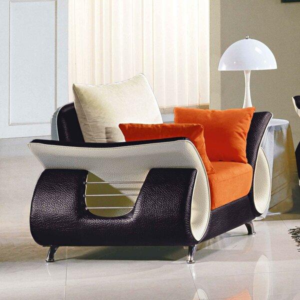 Boltz Armchair by Orren Ellis Orren Ellis