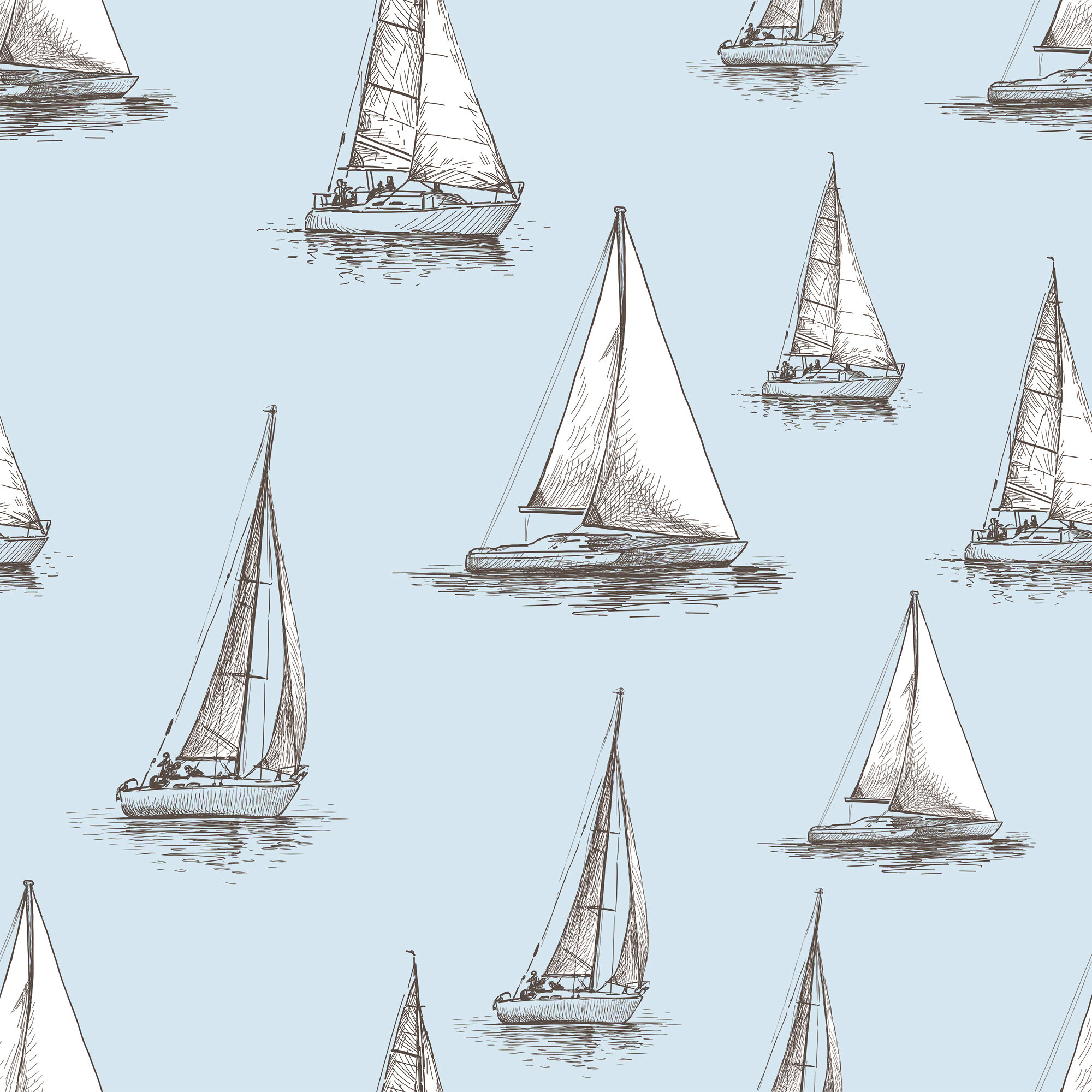 mingus nautical removable peel and stick wallpaper panel