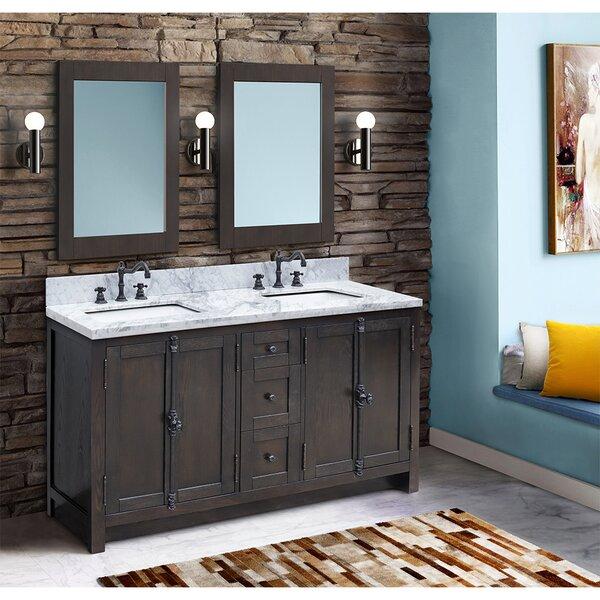 Rickard 55 Double Bathroom Vanity Set by Gracie Oaks