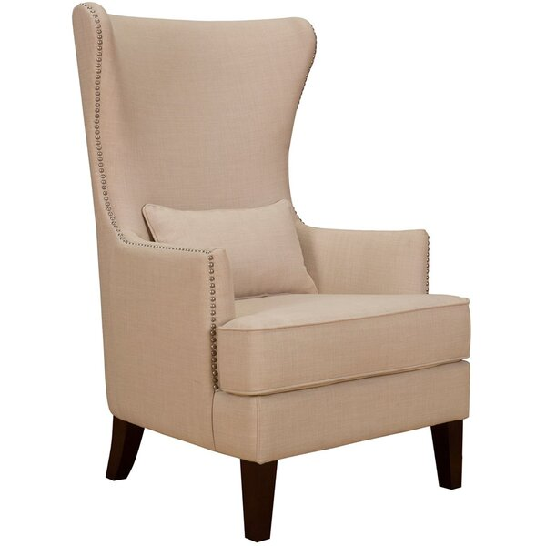 Kina Wingback Chair by Darby Home Co
