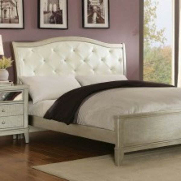 Baril Contemporary Upholstered Sleigh Bed by Canora Grey
