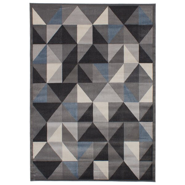 Casavant Gray Area Rug by George Oliver