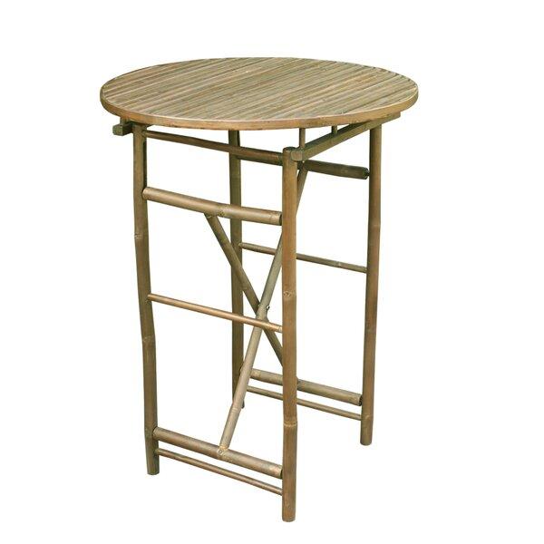 Kalwarski  Folding  Solid Wood  Bar Table by Bloomsbury Market