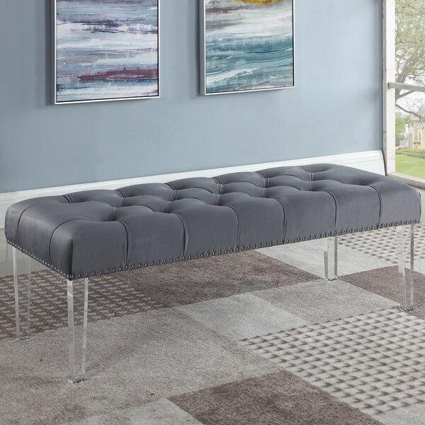Stockbridge Upholstered Bedroom Bench By House Of Hampton
