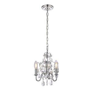 3 chandeliers youll love wayfair dagnall 3 light candle style chandelier aloadofball Image collections