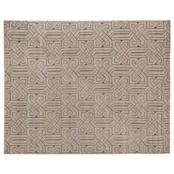 Prague Hand-Woven Ivory Area Rug by Exquisite Rugs