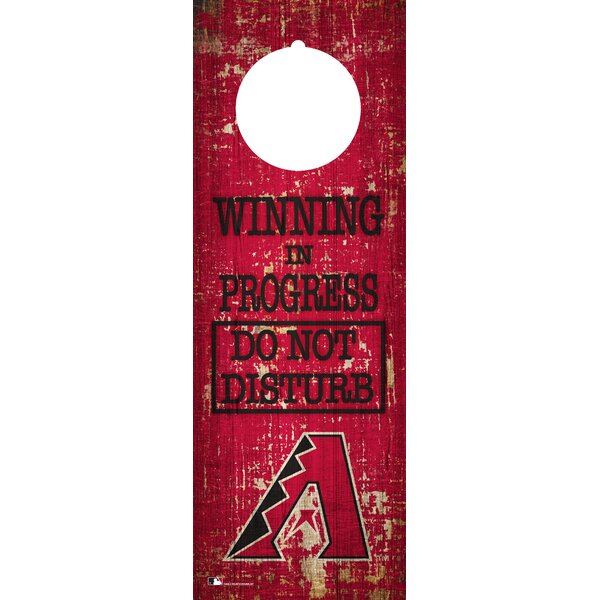 MLB Team Door Hanger Wall Decor by Fan Creations