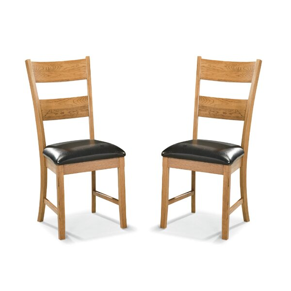 Whipple Ladderback Side Chair (Set of 2) by Millwood Pines