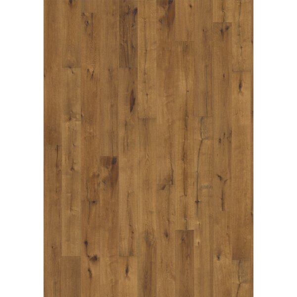 Woodloc Sweden 7-1/2 Engineered Oak Hardwood Flooring in Tan by Kahrs