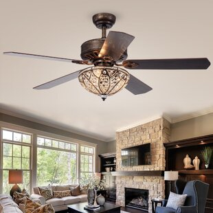 Compare & Buy 52 Colinton 5 Blade Ceiling Fan with Remote By House of Hampton