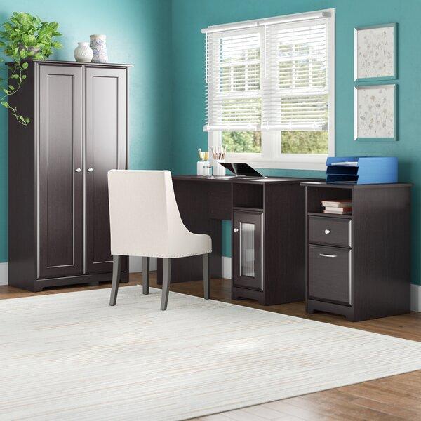 Hillsdale 3-Piece Standard Desk Office Suite by Red Barrel Studio